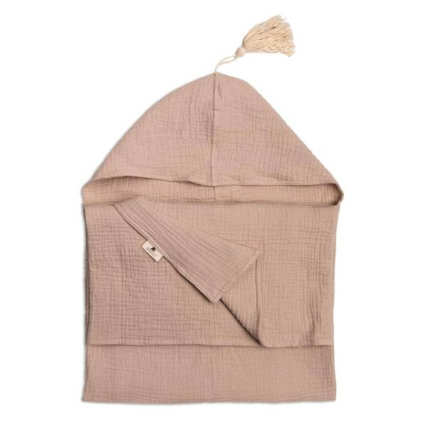 Bilde av Håndkle med hette - Sand