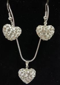 Bilde av Smykkesett  hjerte