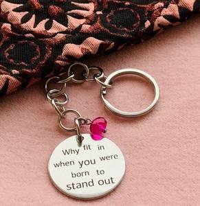 Bilde av KEY WORDS, «Why fit in...»