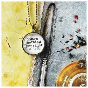 Bilde av WORDS, «When nothing goes right   go left»