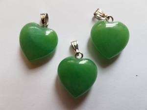 Bilde av Anheng Aventurin Grønn hjerte