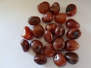 Bilde av agat - brasil rød