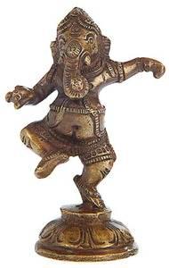 Bilde av Ganesha Dancing Brass 9cm