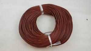 Bilde av Lærrem mørk brun til smykker