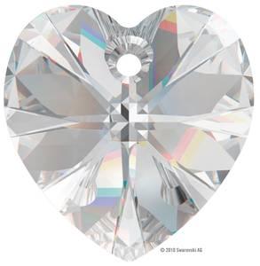 Bilde av Swarovski krystall Hjerte 18