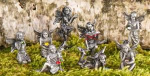 Bilde av Alver i tinn - Fairyland Set