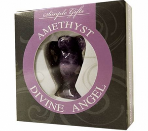 Bilde av Engel - Ametyst i gaveeske -