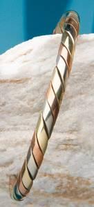 Bilde av Kobberarmbånd - 3 metaller -