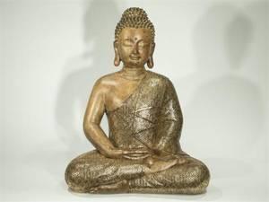 Bilde av Buddhafigur - Yogish Budda XL