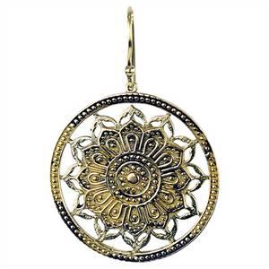 Bilde av Øredobber - Lotus mandala