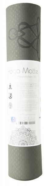 Yogamatte Livets Tre - Yoga mat TPE ecofriendly - dark green