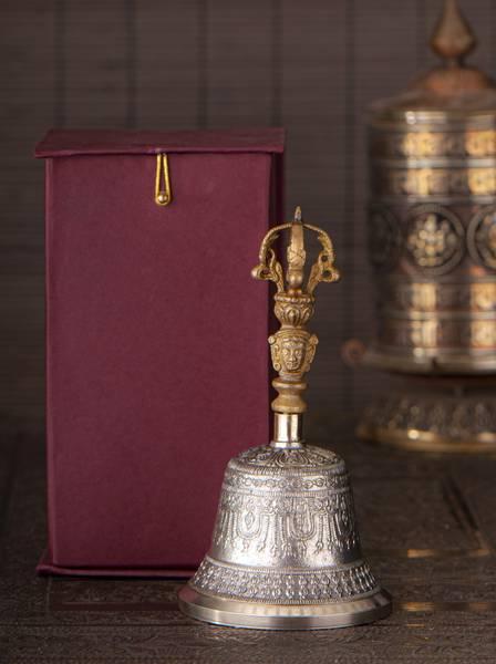 Bjelle - bell with Dorje 18cm