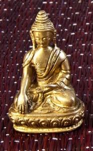 Bilde av Buddha i messing  Akshobhya