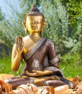 Bilde av Buddha i 3 farger messing