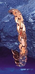 Bilde av Kobberarmbånd knuter -