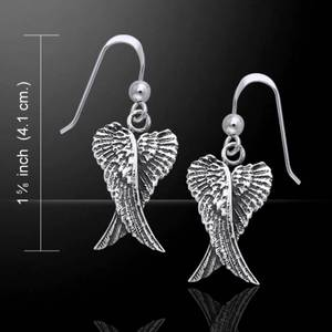Bilde av Angel Wing Double Earrings