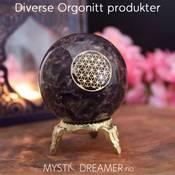 Diverse Orgonite produkter