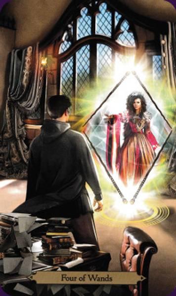 Wizards Tarot - Barbara Moore & Mieke Janssens Sett