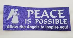 Bilde av Engel Bumperstickers - Peace