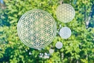 Bilde av Livets blomst klistremerke