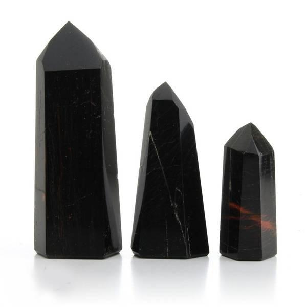 turmalin sort fasettert 250gr