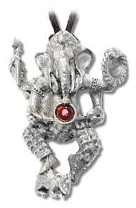 Bilde av Dansende Ganesh anheng i tinn