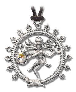 Bilde av Shiva Nataradja anheng i tinn