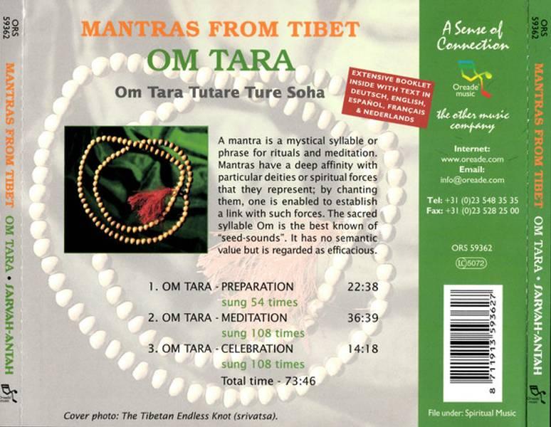 Mantras from Tibet - Om Tara - Sarva-Antah