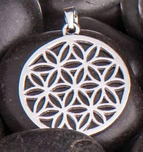 Bilde av Flower of Life Pendant sølv