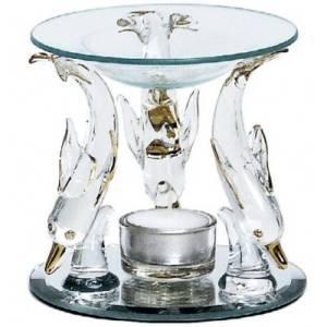 Bilde av Aromalampe Glassdelfiner