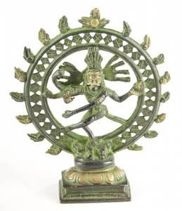 Bilde av Shiva 15 cm messing - Brass