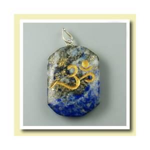 Bilde av Anheng Lapis Lazuli med Ohm