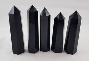 Bilde av Obelisk Obsidian sort slepet