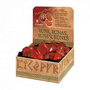 Bilde av Runer - Red Jasper Runes Lo