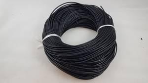 Bilde av Lærsnor sort til smykker og