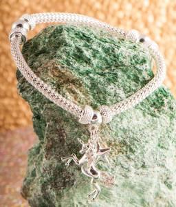 Bilde av Armbånd Enhjørning sølvbelagt