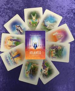 Bilde av Atlantis Cards - Diana Cooper