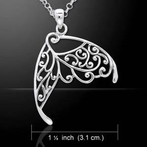Bilde av Intricate Wing Pendant