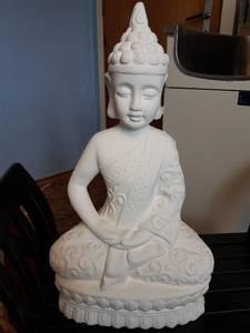 Bilde av Buddha hvit tung