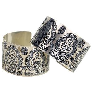 Bilde av Armbånd Buddha metall -