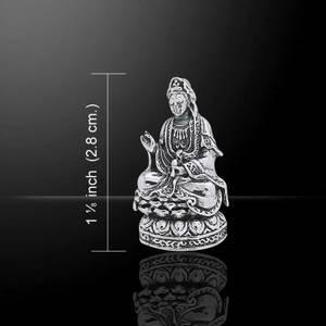 Bilde av Anheng Kuan Yin sølv-Kwan Yin
