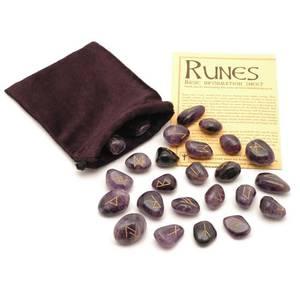 Bilde av Runer - Ametyst-Crystal Rune