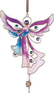 Bilde av Purple Angel Wind Chime-lilla