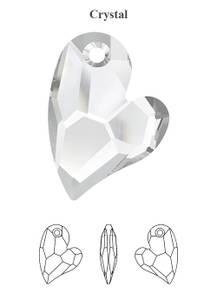 Bilde av Swarovski krystall Hjerte