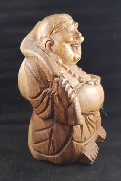 Happy Buddha tre ca 18cm