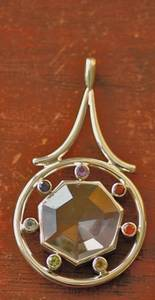 Bilde av Chakra Wheel with Crystal