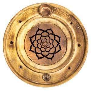 Bilde av Røkelsesholder Lotus Mandala