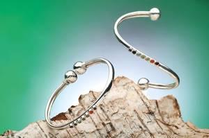 Bilde av Flexible Chakra bracelet 925