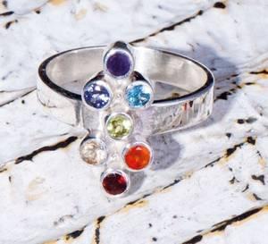 Bilde av Chakra ring vertical 925