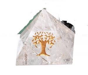 Bilde av Bergkrystall Pyramide med